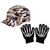 Millitary Pocket Fitting Foldable Stylish Golf Cap With Hand Gloves