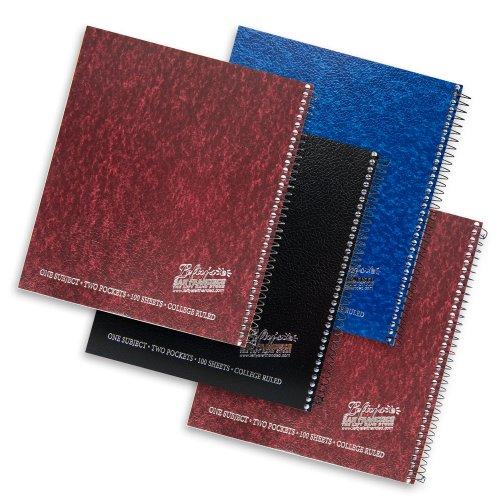 Left-Handed Logo College Ruled Spiral Notebook, 4 Pack