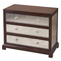 Uttermost Jayne Mirrored Accent Chest