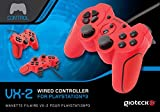 Cheapest Gioteck VX2 Wired Controller  Red (PS3PC) on PlayStation 3