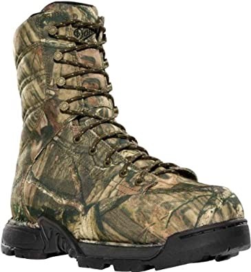 "Danner Men's Pathfinder GTX 8"" 1000G Thinsulate Insulation Waterproof Boots,Mossy Oak Infinity Denier/Gore-Tex,4 2E US"