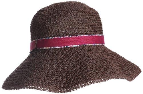 (ムーンバット)MOONBAT グラヴェール LIBERTY ART FABRICS 生地使用 一級遮光帽子 細ペーパークロッシェ つば裏リバティ 26-499-58107
