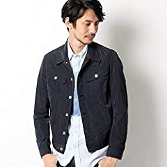 Lacoste Polyester Jean Jacket BH138E: Navy