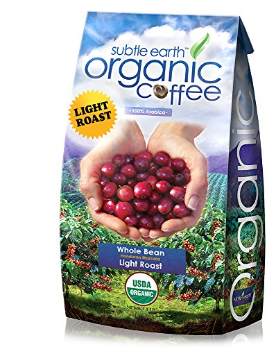 5LB Cafe Don Pablo Subtle Earth Organic Gourmet Coffee - Light Roast - Whole Bean Coffee - USDA Certified Organic - 100% Arabica, 5 Pound (Coffee Beans 5 Pounds compare prices)