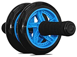 Maximiza Ab Wheel - Dual Wheel Abdominal Roller with Knee Pad for the Perfect Core Workout