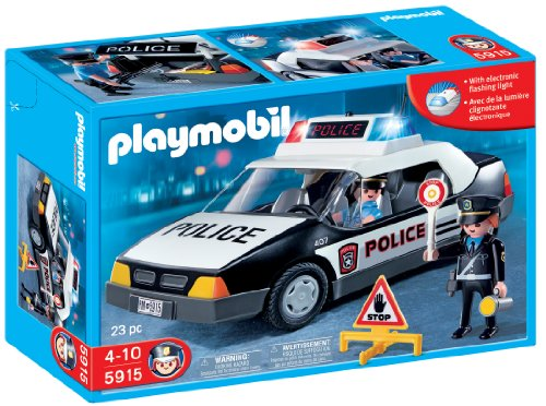 Playmobil Police Car front-1058837