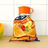 Otulet 3pcs. Magic Bag Cap Keep Snacks Fresh 1 Small 1 Med 1 Large Seals Bags Shut! (with Otulet Free Gift)