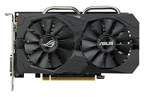 ASUS STRIX-RX460-4G-GAMING ASUS Radeon RX 460 Strix Gaming Graphics Card - Black (4 GB GDDR5, PCI Express 3.0/1200 MHz/1220 MHz/7000 MHz)