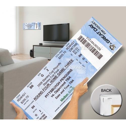 2009 Stanley Cup Mega Ticket - Pittsburgh Penguins