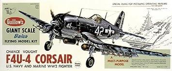 Maquette en bois - F4U-4 Corsair