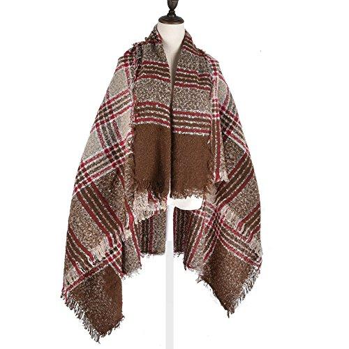 para-mujer-invierno-plaid-de-grosor-cuadrado-bufanda-envuelve-manton-elegante-para-mujer-verde-caqui