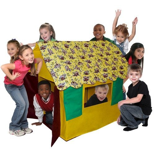 Bazoongi Kids Going Bananas Monkey Cottage Play T