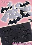 樹脂粘土用型:ハロウィン ぷっくりコウモリ (型抜き) G-040