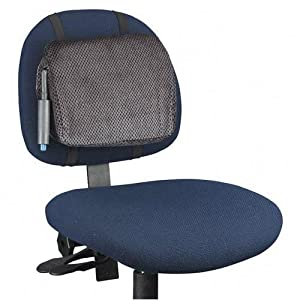 "Adjustable Backrest, 12-7/8x2-3/4""x10-3/4"", Gray/Black, Sold as 1 each"