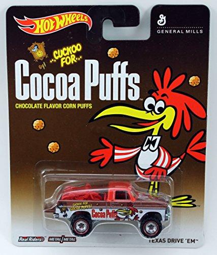 Hot Wheels Pop Culture General Mills - Cocoa Puffs