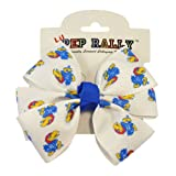 University of Kansas KU Jayhawk Pinwheel Hair-Bow at Amazon.com