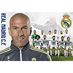 Real Madrid C.F. Large Poster Zidane 45
