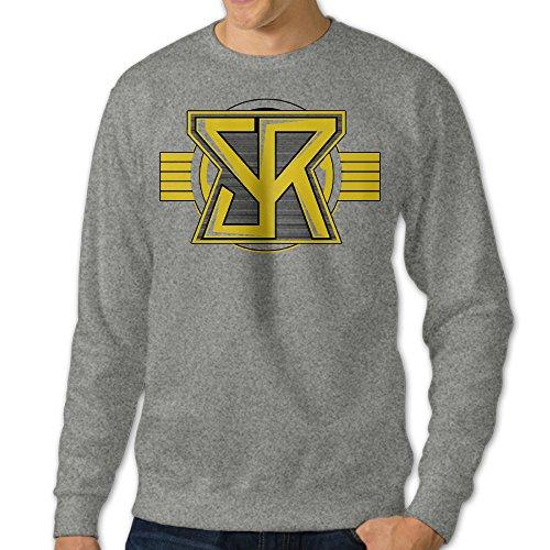 [NUBIA Men's SR Logo Custom Hood Ash XXL] (Car Wash Costume Ideas)