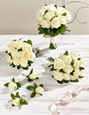 White Wedding Luxury Rose Collection 2
