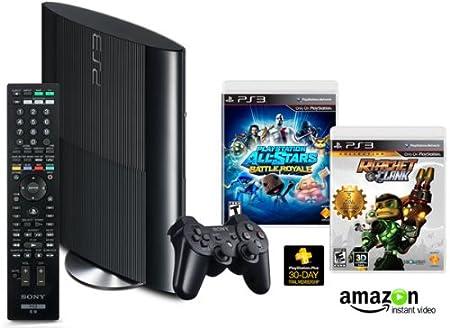 PS3 250GB Amazon Exclusive Family Entertainment Bundle