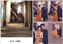 LB 10x15ft Wedding Theme Vinyl Photography Backdrop Customized Photo Background Studio Prop JLT-7498