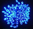 Proxima Direct® 100 LED 17M Blue Solar Powered Fairy Light Waterproof -- Garden Outdoor Christmas Lights--New designed Solar Panel last 3 hours longer, ship by 1st class delivery