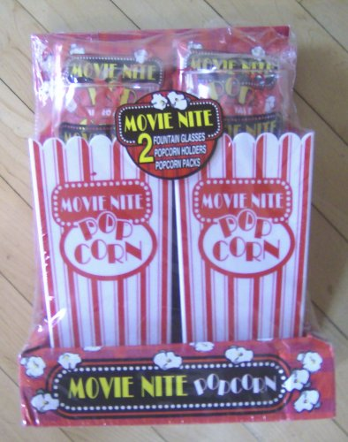 Movietime Popcorn Entertainment Set