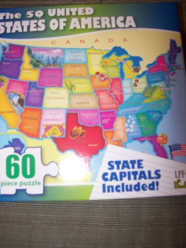 The 50 United States of America Puzzle by Greenbrier - 1