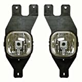 Ford Pick Up Truck 01-04 Driving Fog Lights Lamps Pair Set Right & Left