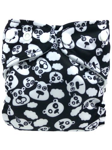 Charlie Banana X-Small Cloth Diaper - Blackbeary Print