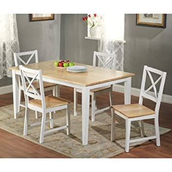 TMS Crossback 5 Piece Dining Set