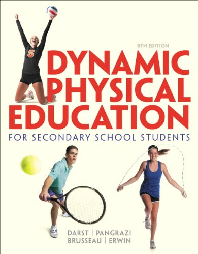 Dynamic Physical Education for Secondary School Students (8th Edition) (Timothy Training Program compare prices)