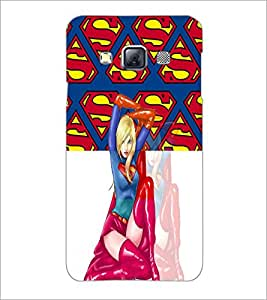 PrintDhaba Fantasy Girl D-5985 Back Case Cover for SAMSUNG GALAXY A3 (Multi-Coloured)