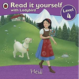 Read it Yourself: Heidi: Level 4 (Read it Yourself - Level 4)