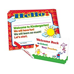Teacher Peach Welcome-to-Kindergarten Kit