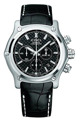 Ebel 1215863 1911 BTR Chronograph Automatic Steel Mens Strap Watch Calendar 9137L70/1533545ws