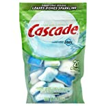 Cascade Complete All in 1 Dishwasher Detergent, Lemon Burst Scent, 26 ct.