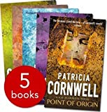 PATRICIA CORNWELL 5 BOOK SET From potters field, Point of origin, Cause of death, Black Notice, Unnatural Exposure