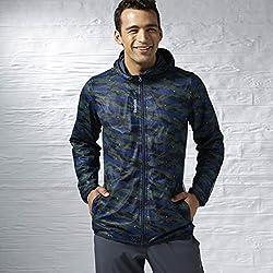 Reebok Men's Track Jacket (4055015304731_AA4648_2XL_Handy Blue )