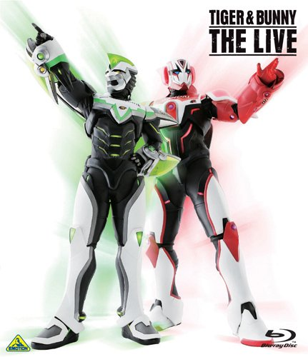 TIGER & BUNNY THE LIVE [Blu-ray]