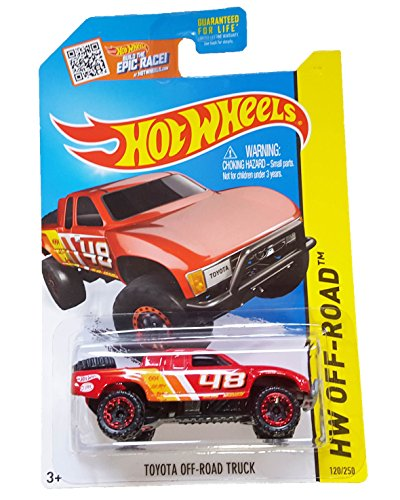 Hot Wheels, 2015 HW Off-Road, Toyota Off-Road Truck [Red] 120/250 (Toyota Trucks For Sale compare prices)