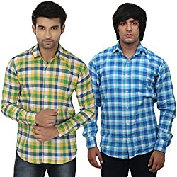 Masculine Affair Set Of 2 Casual Shirts
