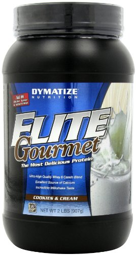 Dymatize Nutrition Gourmet Elite, Cookies And Cream, 2-Pound