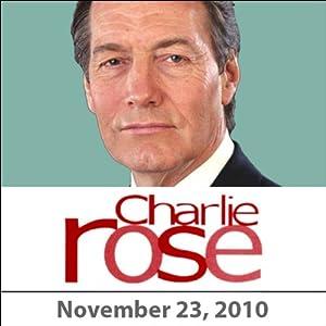 Charlie Rose: David Sanger, Steve Martin, and V.S. Naipaul, November 23, 2010 Radio/TV Program