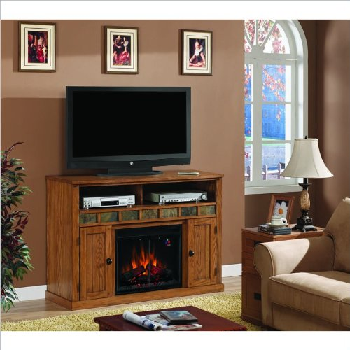 Classic Flame Sedona Fireplace in Classic Oak image B004IS03SY.jpg