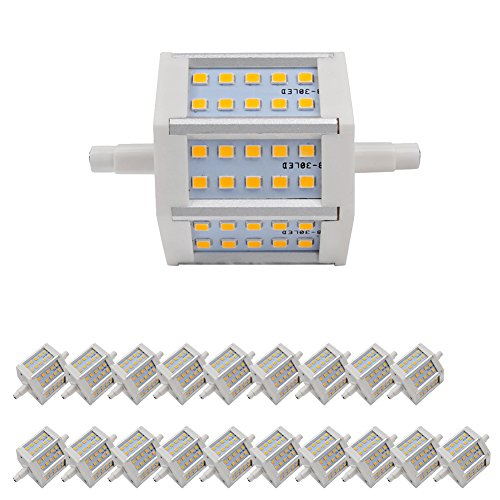 20X Smd 2835 Led Bulb 4W Non-Dimmable R7S Warm White 360Lm Lighting With Ce And Rohs Ac 85-265 V