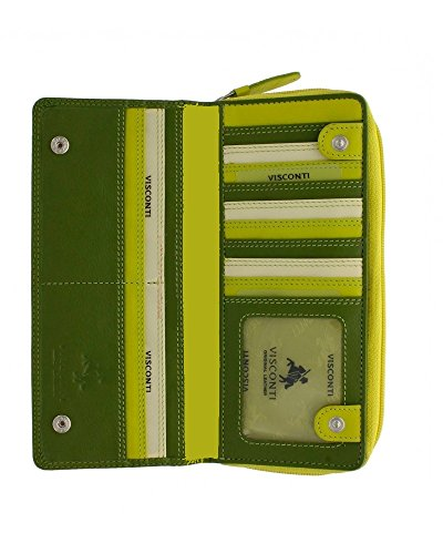 visconti-rb-55-multi-colored-ladies-soft-leather-checkbook-wallet-and-purse-green-yellow