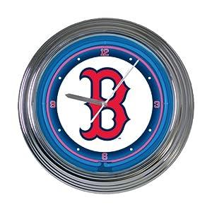 MLB 15 inch Neon Wall Clock by The Memory Company