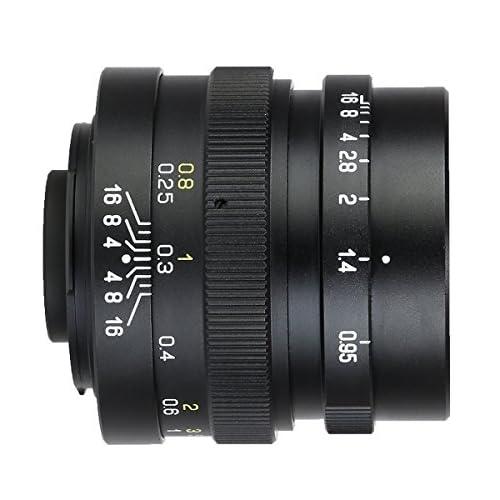 【日本国内正規品】中一光学│ZHONG YI OPTICS 単焦点レンズ SPEEDMASTER 25mm F0.95 マイクロフォーサーズマウント (MITAKON)