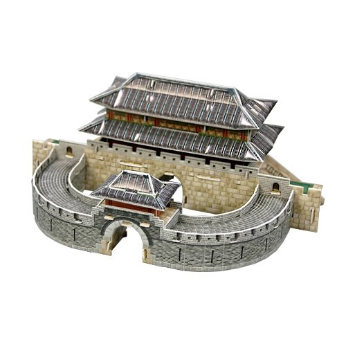 Jigsaw 3D Puzzle Korea Culture Series - Suwon Hwaseong Fortress - 1